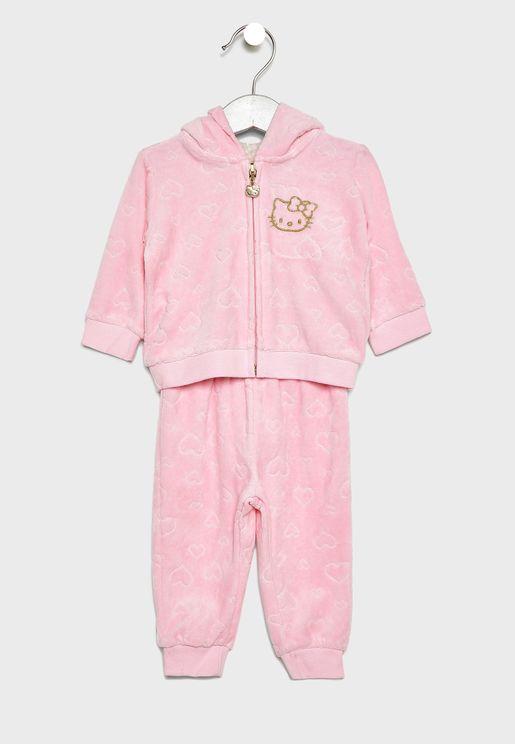 Infant Logo Hoodie + Sweatpants Set