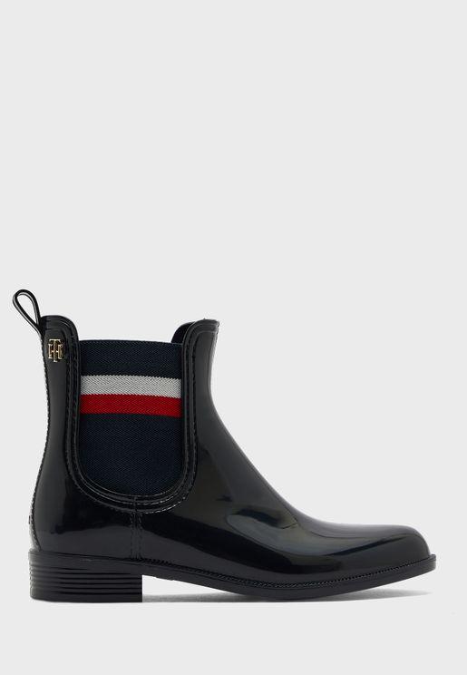 Logo Detail Boots