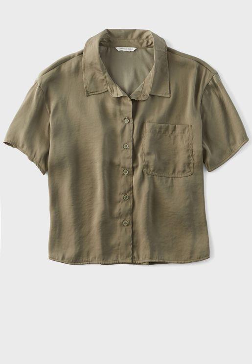 Drop Shoulder Shirt