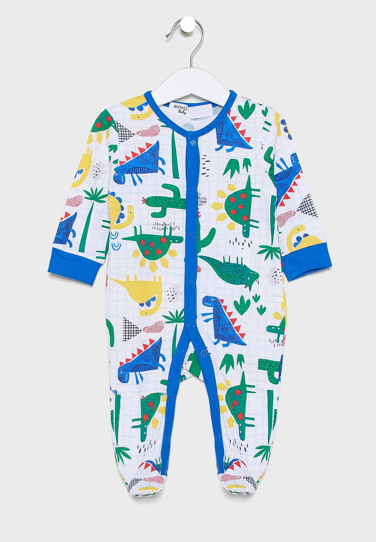 Infant 2 Pack Printed Sleepsuit