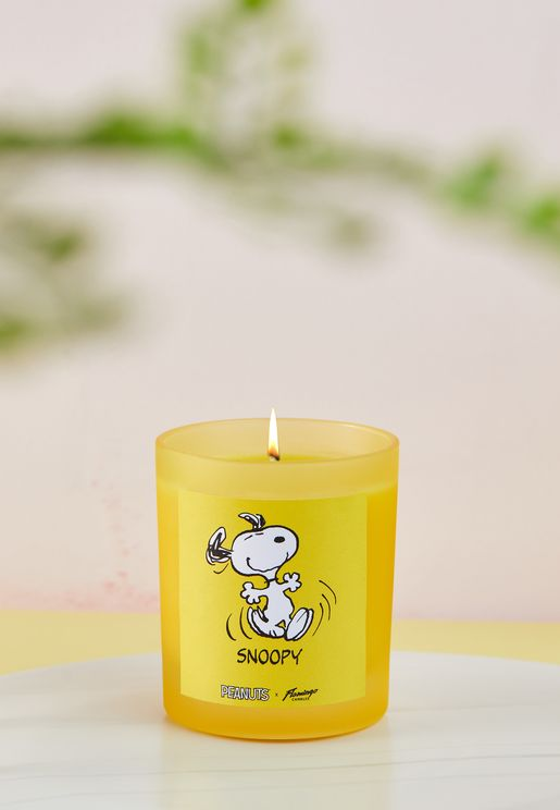 Peanuts Snoopy Root Beer Candle