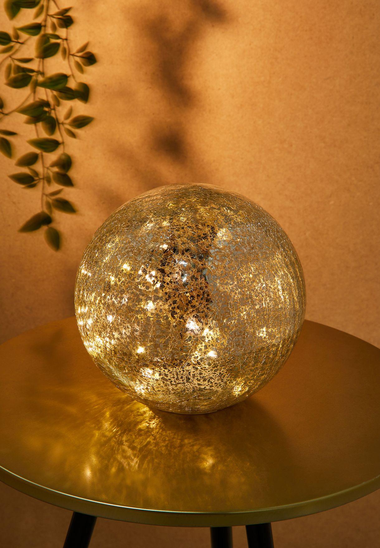 لمبة دائرية زجاجية