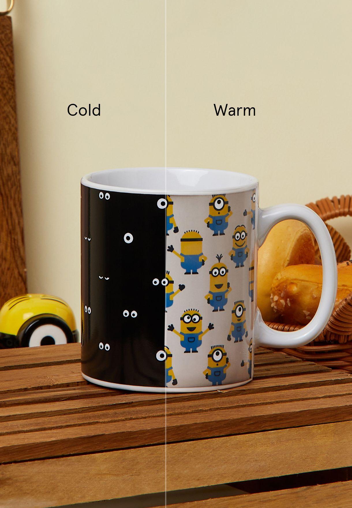 Minions Heat Changing Mug - 400ml