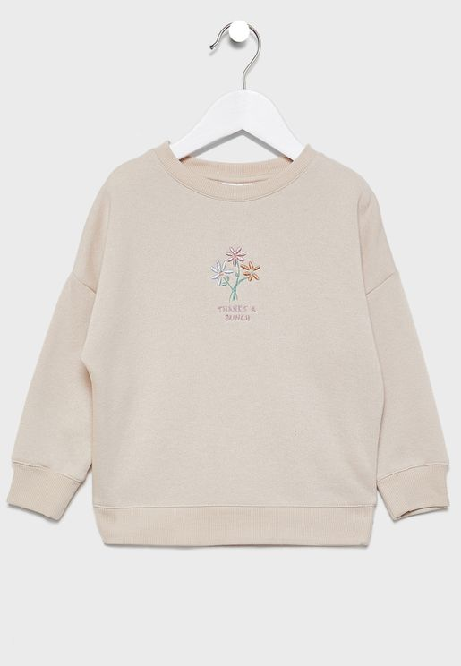 Kids Sage Sweatshirt