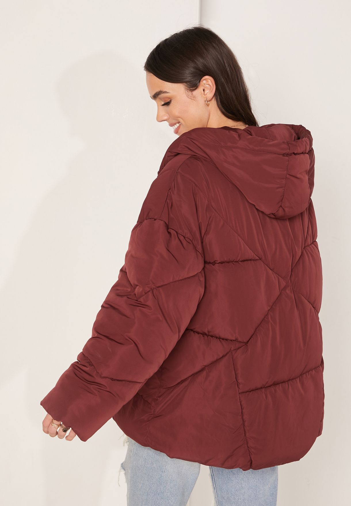 Hailey Puffer Hooded Jacket