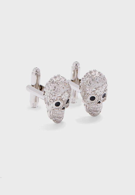 Calavera Skull Cufflinks