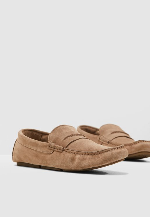 Carlo Suede Loafers