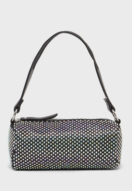 Beaded Round Duffel
