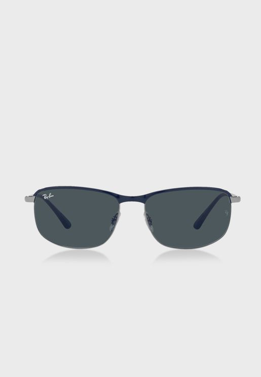 0Rb3671 Clubmaster Sunglasses