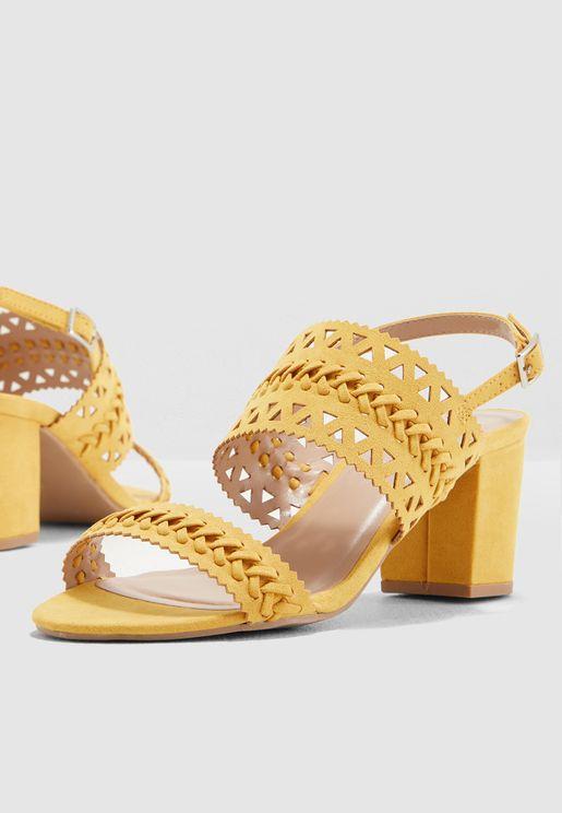 Shugar Heeled Sandal