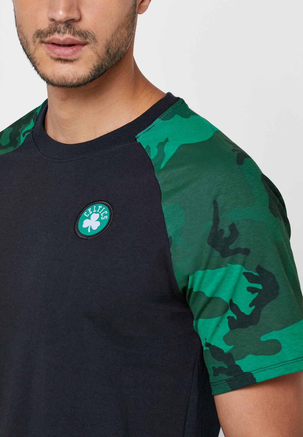 Boston Celtics Camo T-Shirt