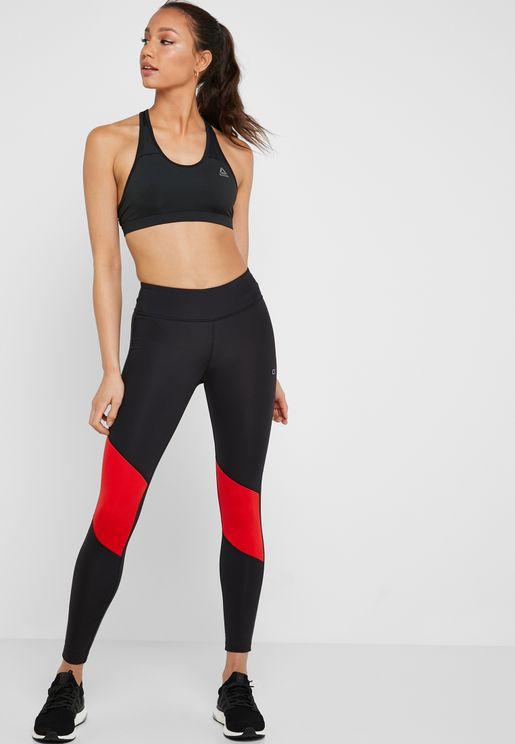 Essential Colour Block 7/8 Leggings