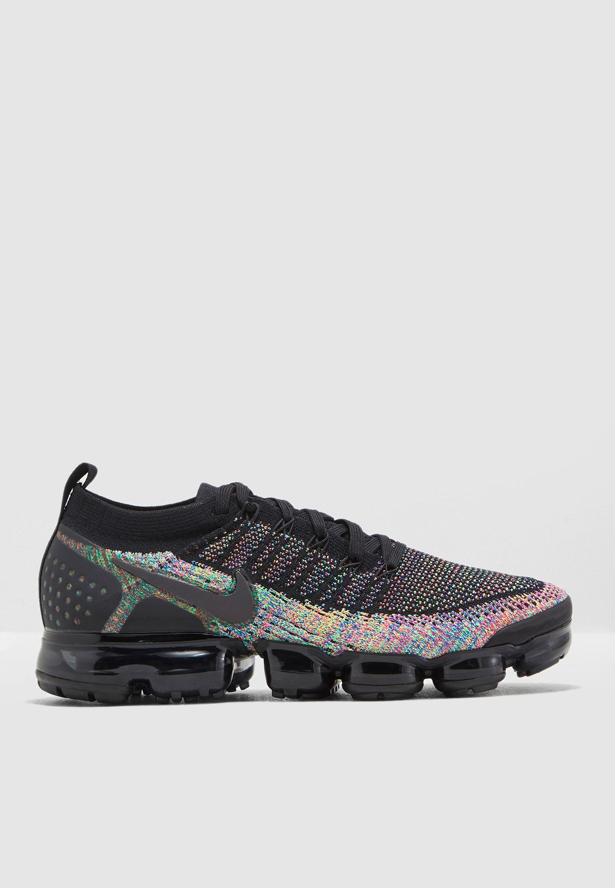 96a7df3d4678 Shop Nike multicolor Air Vapormax Flyknit 2 942842-017 for Men in ...