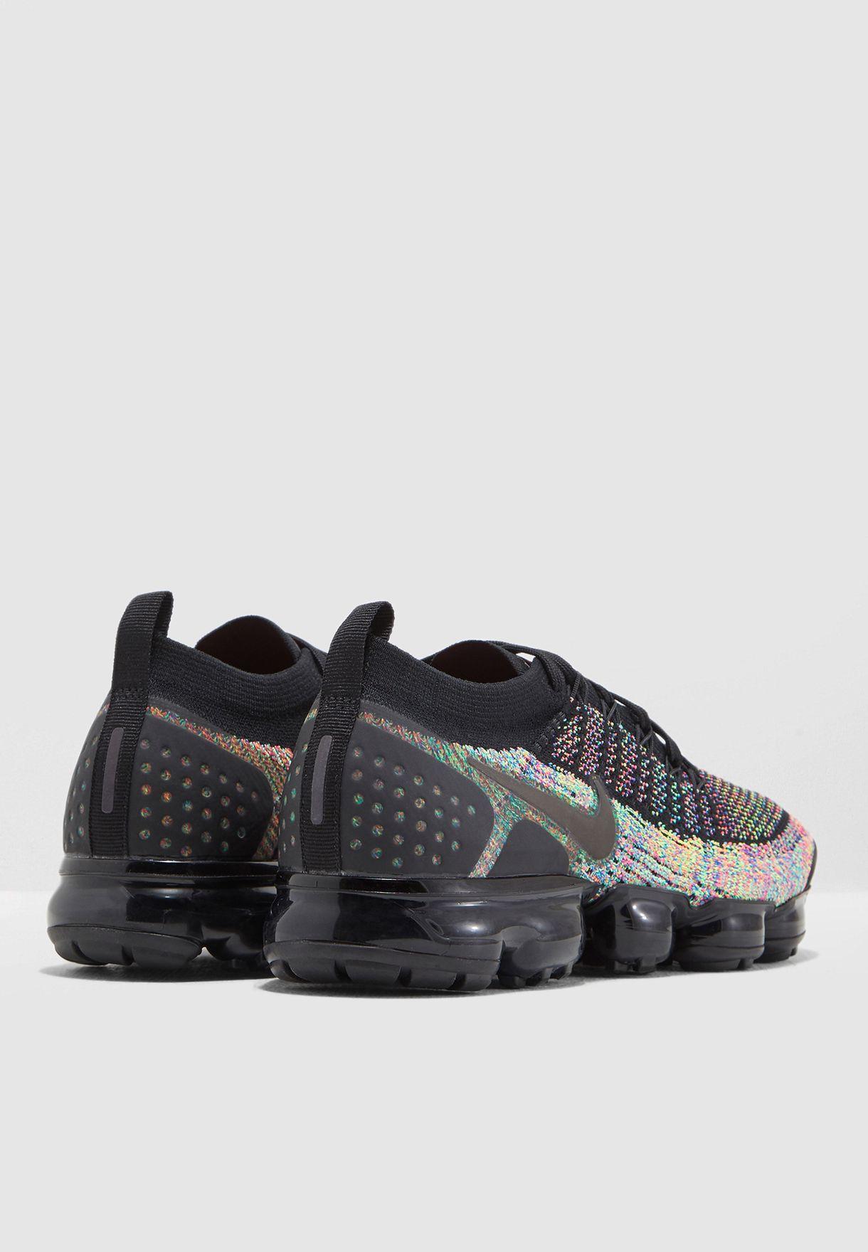 d67b748503f34 Shop Nike multicolor Air Vapormax Flyknit 2 942842-017 for Men in ...