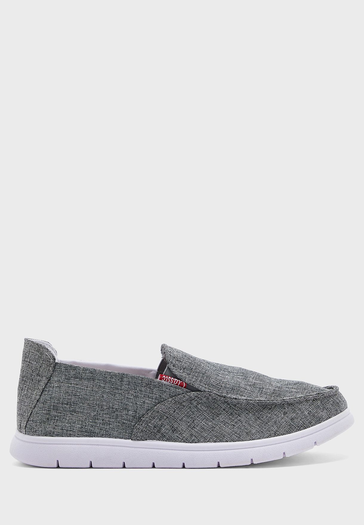 Casual Canvas Slip Ons