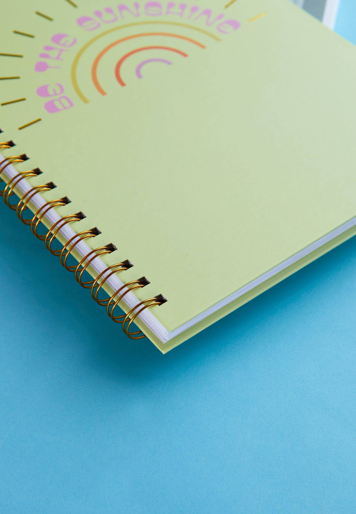A4 Be The Sunshine Notebook