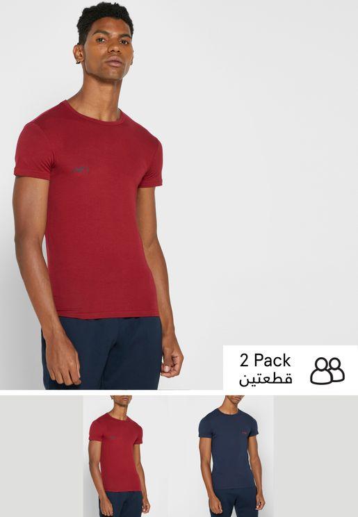 2 Pack Crew Neck T-Shirt