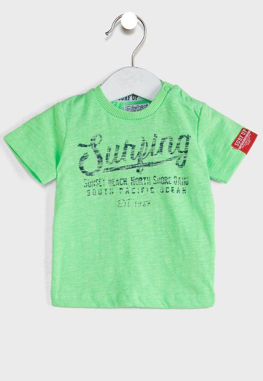 Kids Slogan T-Shirt