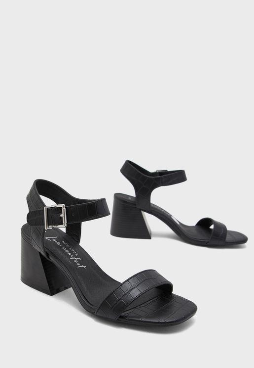 Pavlova Block Heel Sandal