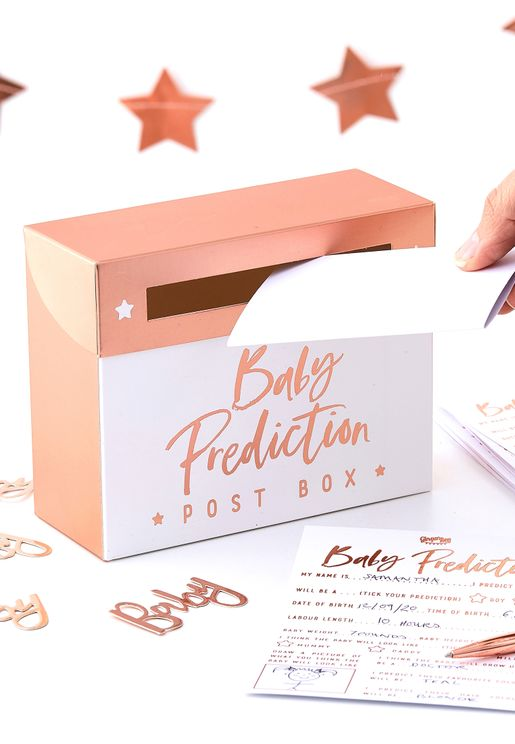 Baby Shower Prediction Box