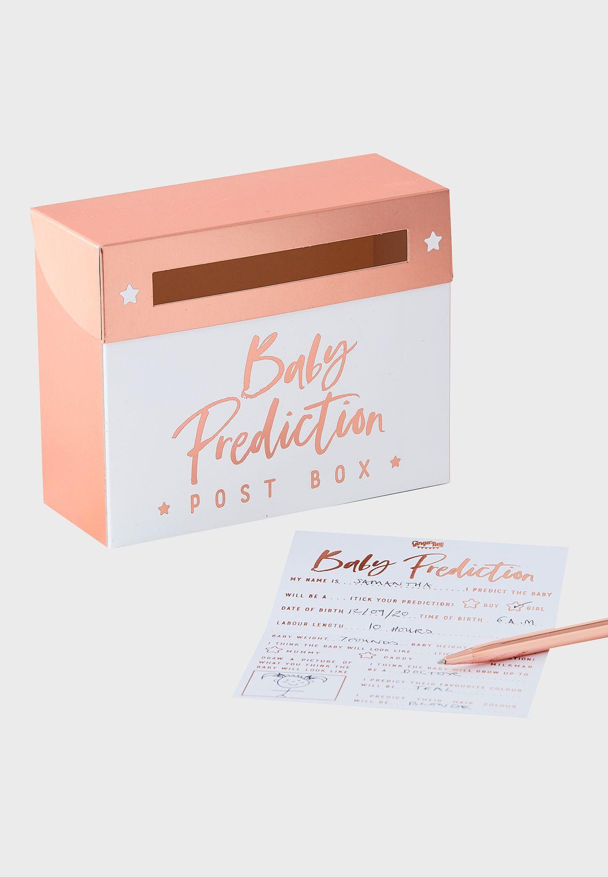 صندوق حفل المولود الجديد