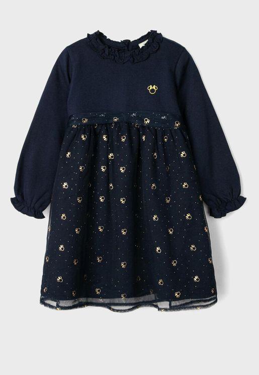 Kids Minnie Mouse Dress