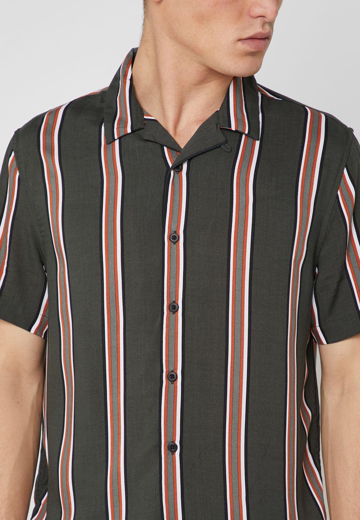Albi Striped Regular Fit Shirt