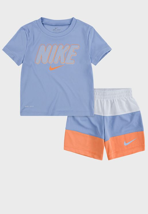 Infant Dri-FIT Colour Block Set