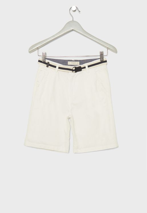 Kids Bermuda Shorts with Belt