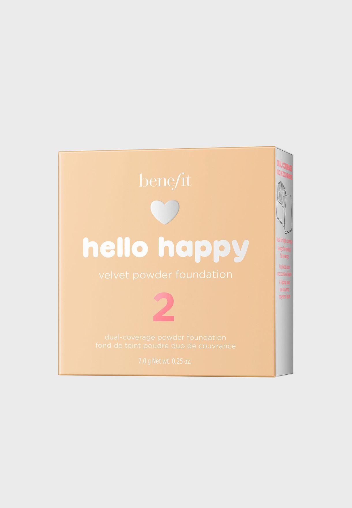 Hello Happy Velvet Powder Foundation -02
