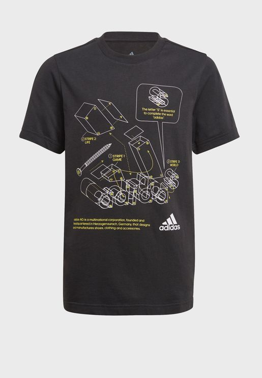 Youth Tech Badge Of Sports T-Shirt