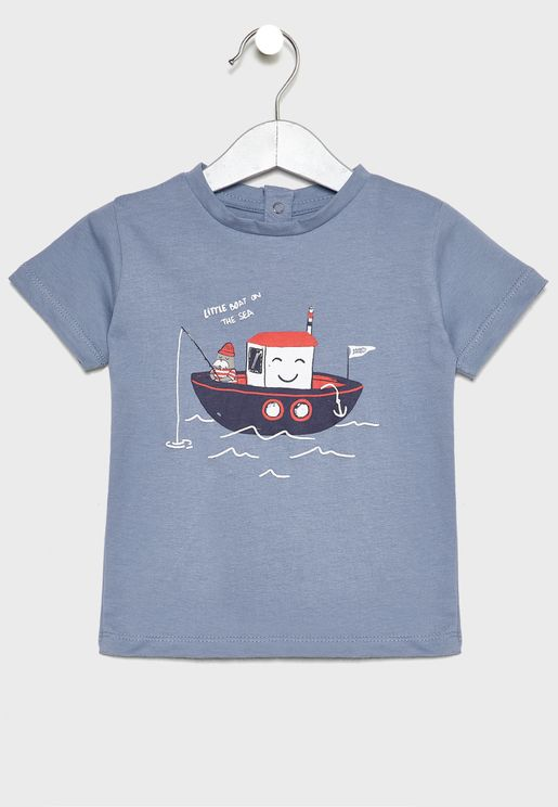 Kids Boat T-Shirt