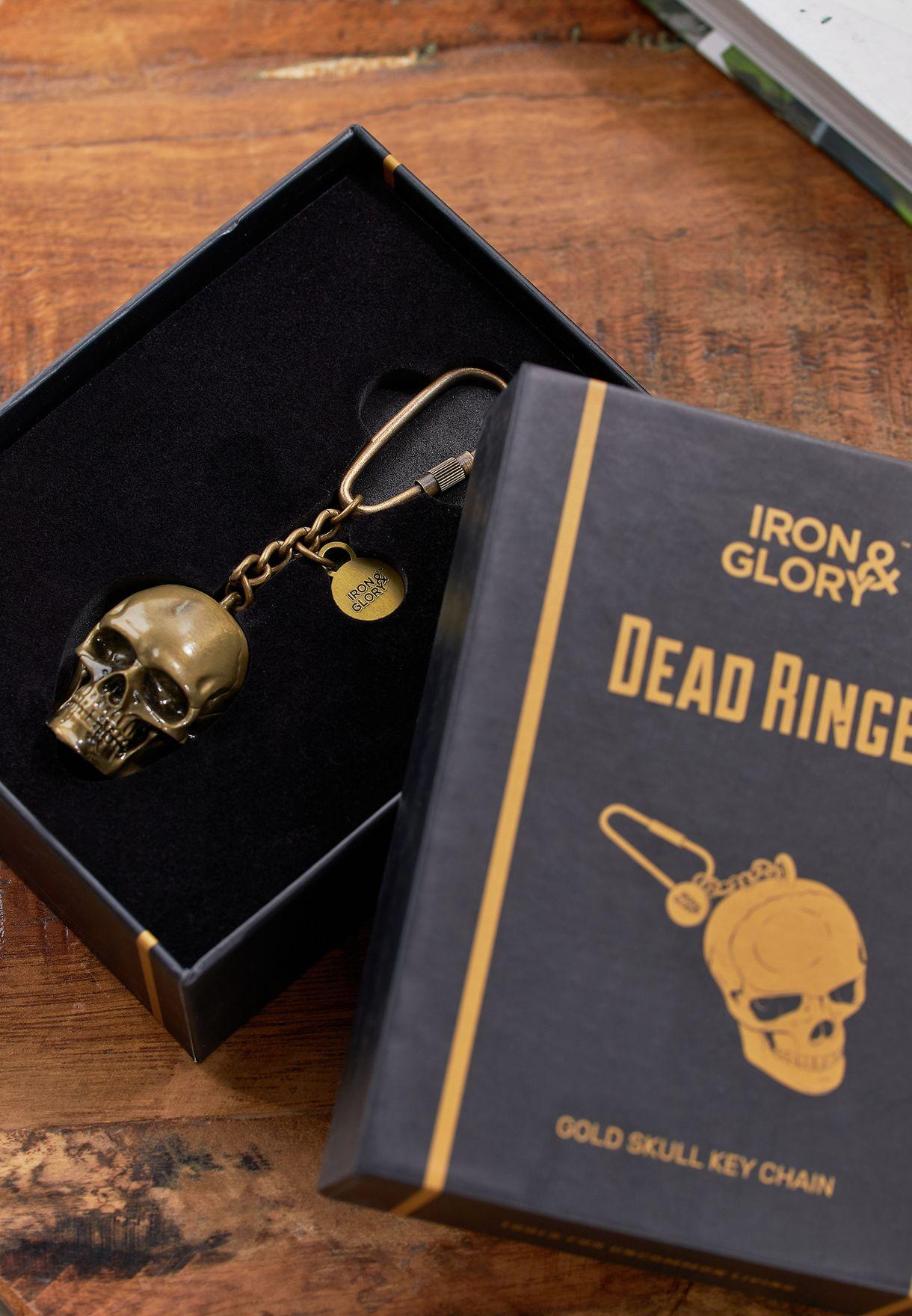Dead Ringer Skull Keychain