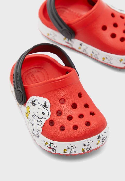 Kids Snoopy Clog Sandal
