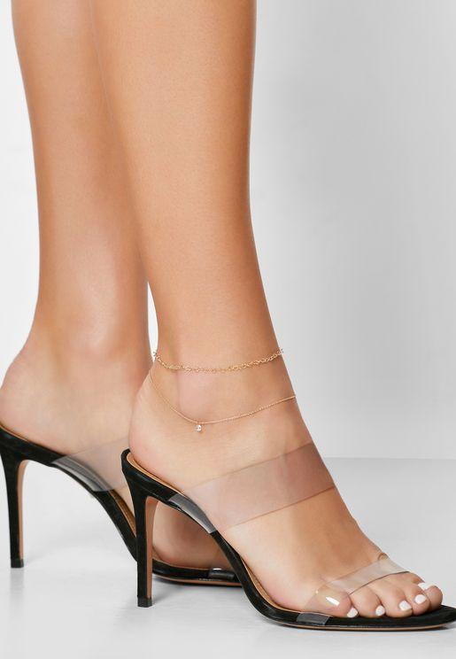 Maxillaria Anklet Set