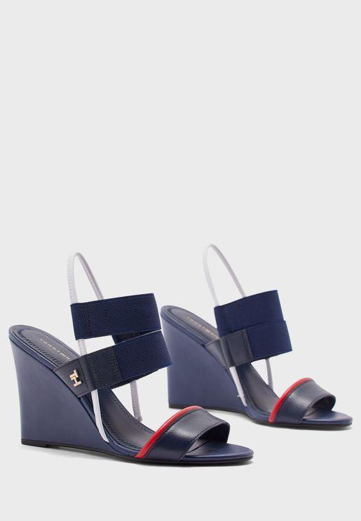 Sling Back Wedge Sandal - 0KP