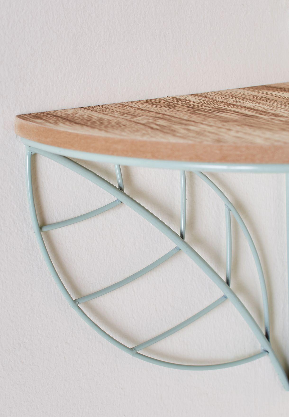 Wire Leaf Corner Shelf