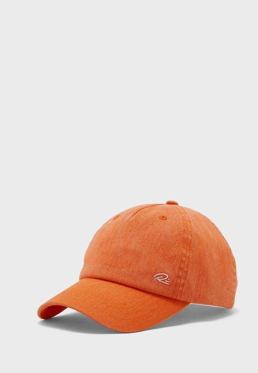 Orange Branded Cap