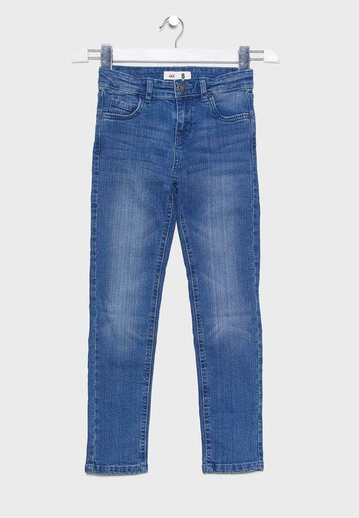 جينز سليم للاطفال