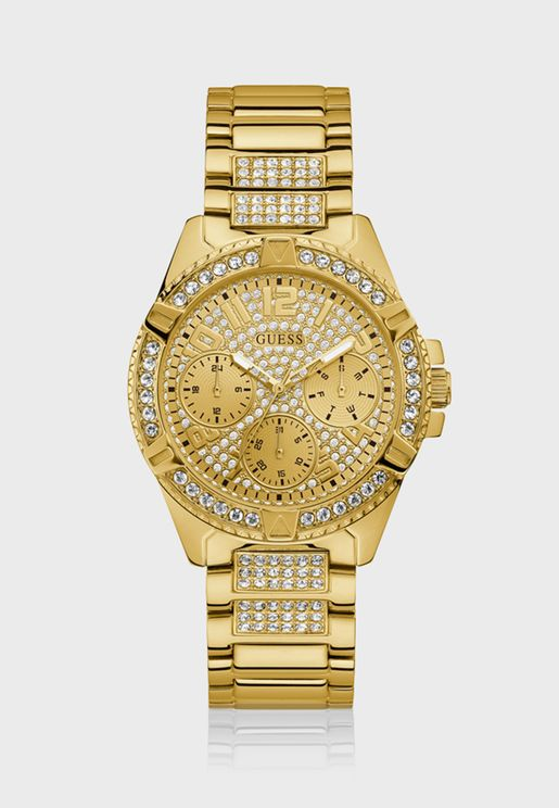 Crystal Detailing Glitz Watch