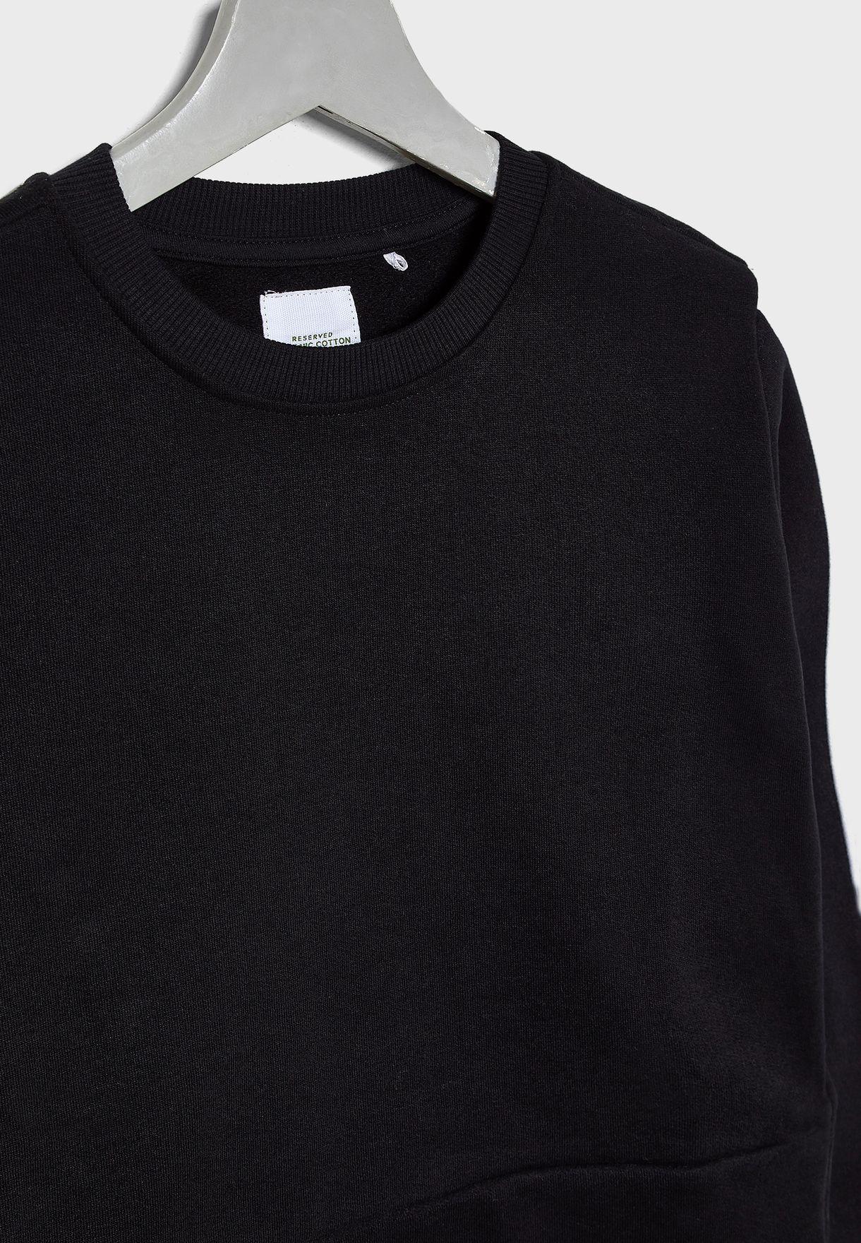 Kids Stripe Sleeve Sweatshirt