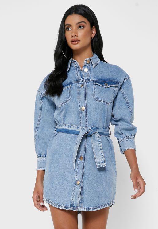 Delano Shirt Dress