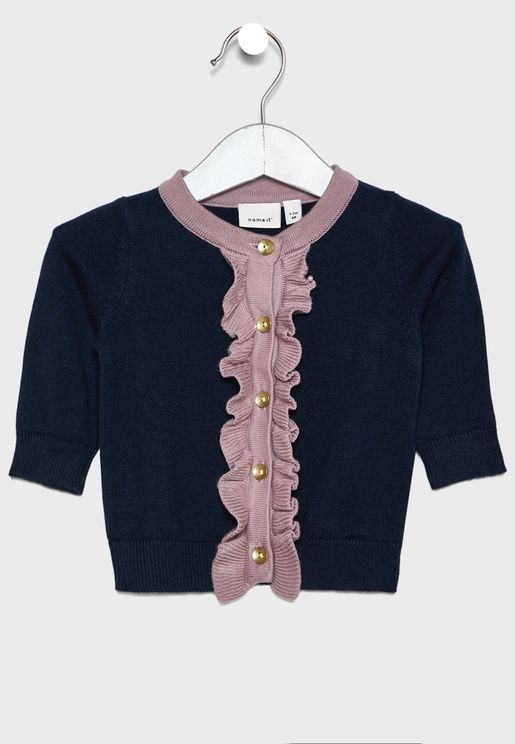 Infant Frill Detail Cardigan