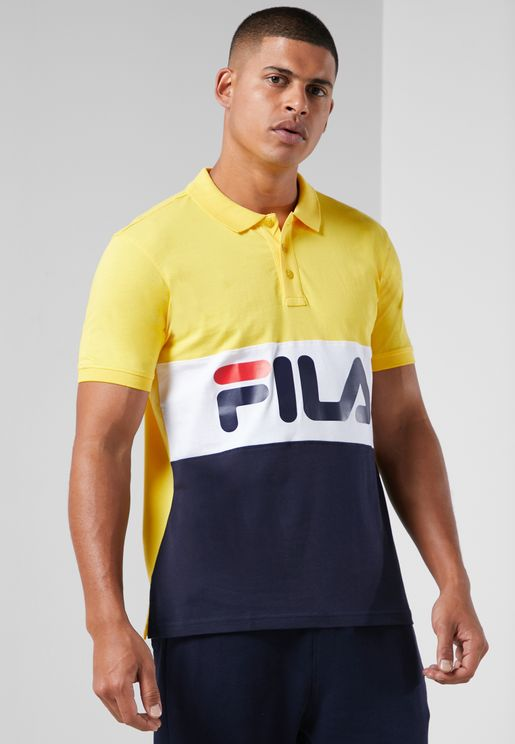 Robbie Colour Block Polo