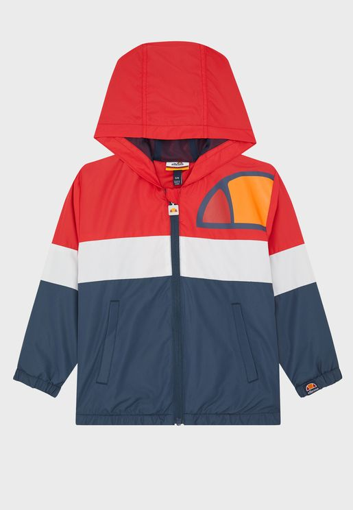Youth Jirios Hooded Track Jacket