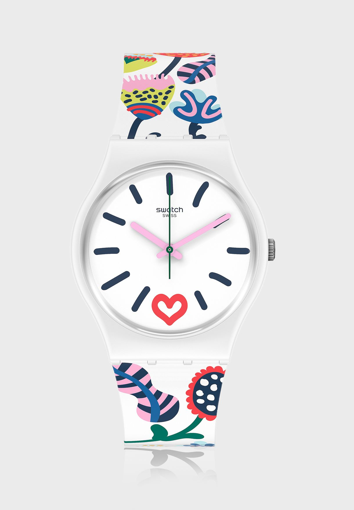 Just Flowers Analog Watch