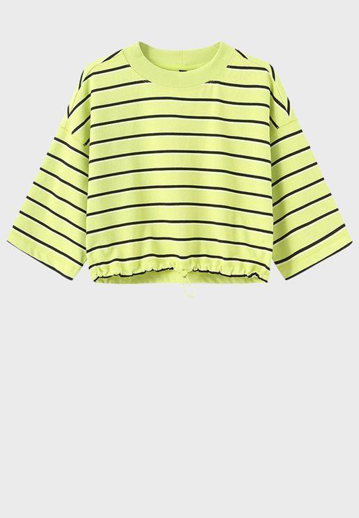 Kaftan Sleeve T-Shirt