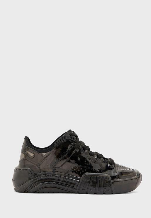 Transparent Low Top Sneaker