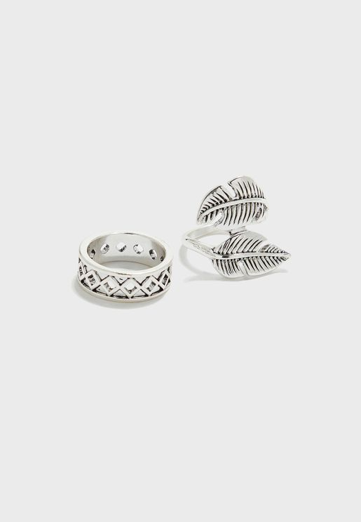 2 Pack Ring Set