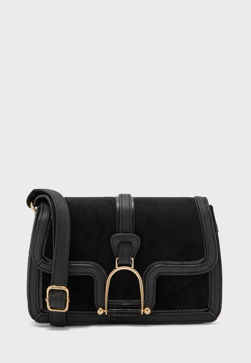 Harvey Metal Detail Crossbody